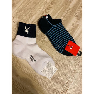PLAYBOY - PLAYBOY VAN ソックス 靴下