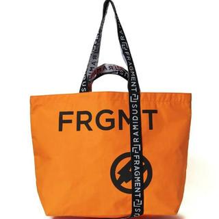 FRAGMENT - 新品即日発送 オレンジ L ラミダス×フラグメント  トートバッグ