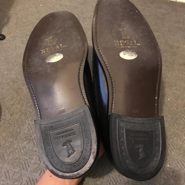REGAL(リーガル)のREGAL リーガル ドレスシューズ 革靴 ウイングチップ ビジネスシューズ メンズの靴/シューズ(ドレス/ビジネス)の商品写真