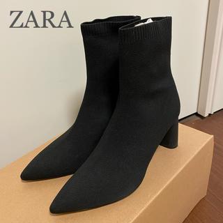ザラ(ZARA)の極美品★ZARA 今季ショートブーツ(ブーツ)