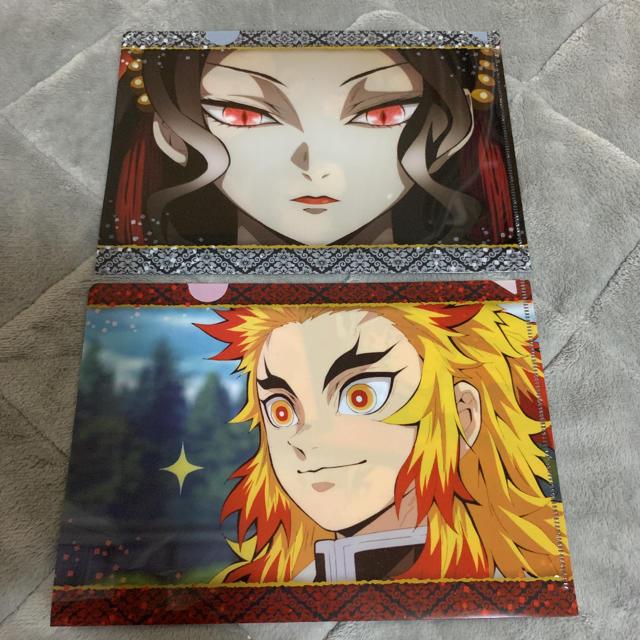 鬼滅の刃 ミニクリアファイル エンタメ/ホビーのアニメグッズ(クリアファイル)の商品写真