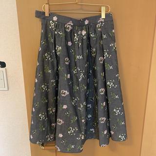 TOCCA - TOCCA刺繍スカート4サイズ新品タグ付き