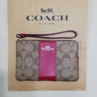 COACH - 【新品未使用】COACH コーチ ポーチ 財布