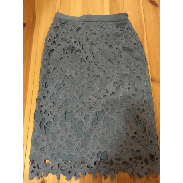 tocco(トッコ)のケミカルレースタイトスカート トッコクローゼット レディースのスカート(ひざ丈スカート)の商品写真