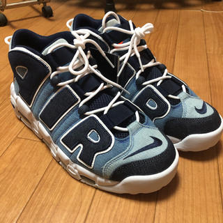 NIKE - NIKE AIR MORE UPTEMPO 96 QS DENIM モアテン