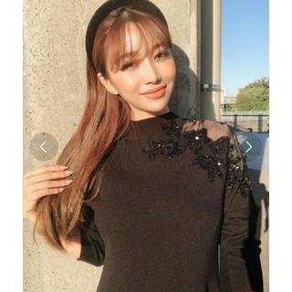 eimy istoire - [値下げ]eimyistoire embroidery knit dress