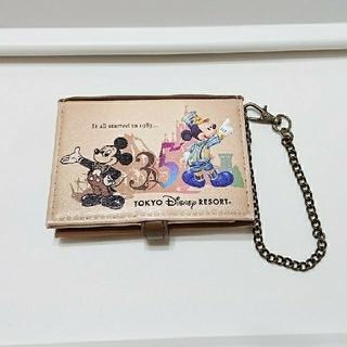 Disney - カードケース・ミッキー35周年