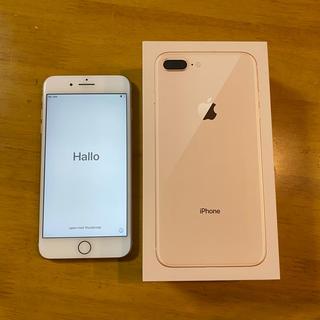 iPhone - iPhone8plus 256GB 本体 ローズゴールド SIMフリー