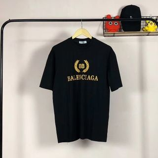 balenciaga 半袖 大きいサイズ 男女兼用 3色 綿100% 男女兼用