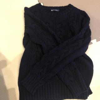 プチバトー(PETIT BATEAU)のプチバトーのセーター(ニット/セーター)