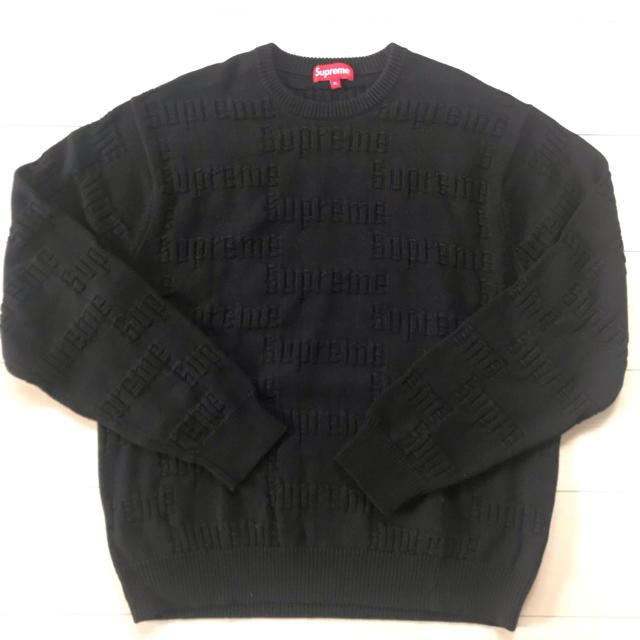 Supreme(シュプリーム)のSupreme Raised  Logo Sweater  メンズのトップス(ニット/セーター)の商品写真