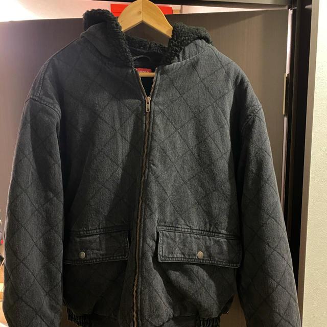 Supreme(シュプリーム)の即決supreme 18AWQuilted Denim Pilot Jacket メンズのジャケット/アウター(Gジャン/デニムジャケット)の商品写真
