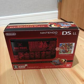 ニンテンドー3DS - ニンテンドー3dsLL ルフィレッド