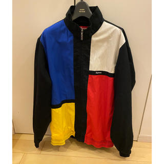 Supreme - supreme color blocked trackjacket M トラック