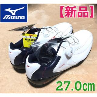 MIZUNO - 【新品】MIZUNO(ミズノ)ゴルフシューズ 27.0