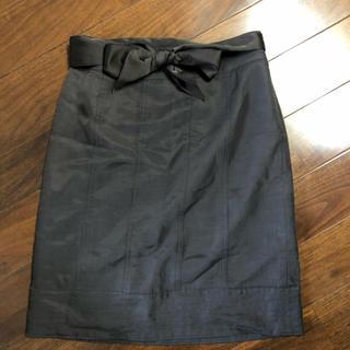 ジユウク(自由区)の小さいサイズ★自由区 茶色のスカート(ひざ丈スカート)
