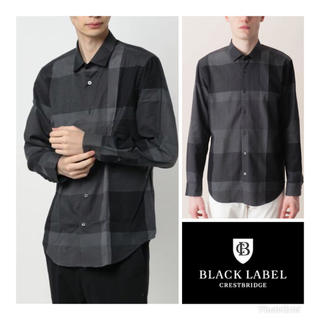 BLACK LABEL CRESTBRIDGE - M 18AW  美品 ブラックレーベル クレストブリッジ チェック シャツ
