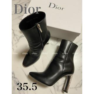Christian Dior - Dior ショートブーツ 35.5 美品