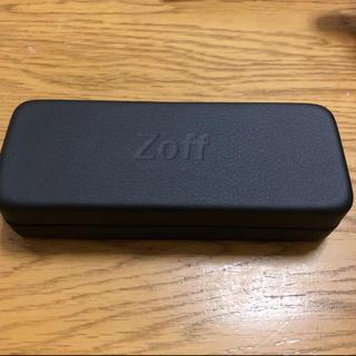 ゾフ(Zoff)の未使用 Zoff ゾフ メガネケース ブラック(サングラス/メガネ)