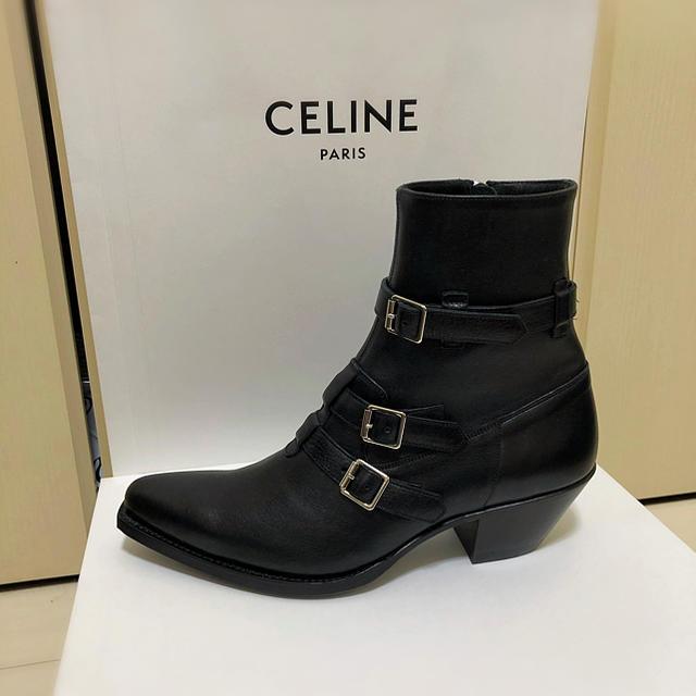 celine(セリーヌ)のCELINE by HEDISLIMANE メンズの靴/シューズ(ブーツ)の商品写真