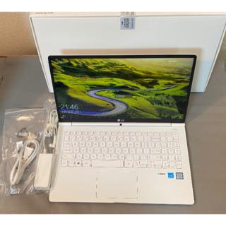 エルジーエレクトロニクス(LG Electronics)の【軽量980g】15インチPCーLG Gram 15Z960(ノートPC)