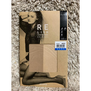 Atsugi - RE LISH ラメストッキング ベージュ