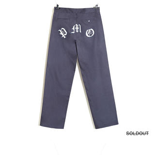 PEACEMINUSONE - PMO WORK PANTS #1 GREY
