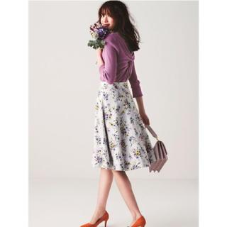 Apuweiser-riche - 【超美品】雑誌掲載☆ スプリングブーケリバーシブルフレアスカート
