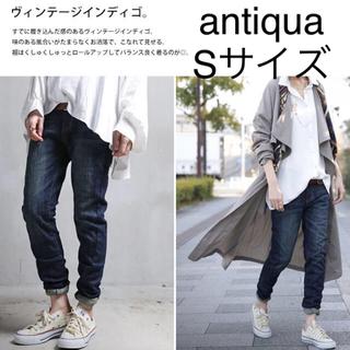 antiqua - antiqua デニム Sサイズ