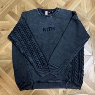 kith コンボニット クルーネックスウェット トレーナー