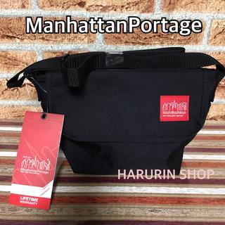 Manhattan Portage - ☆新品・正規品☆マンハッタンポーテージ  メッセンジャーバッグ ブラック xxs