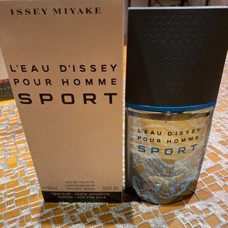 イッセイミヤケ(ISSEY MIYAKE)のISSEY MIYAKE 100ml新品未使用(香水(男性用))