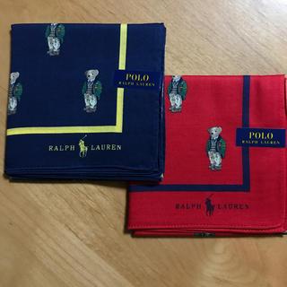 POLO RALPH LAUREN - ラルフローレン 新品 ハンカチ 二枚セット