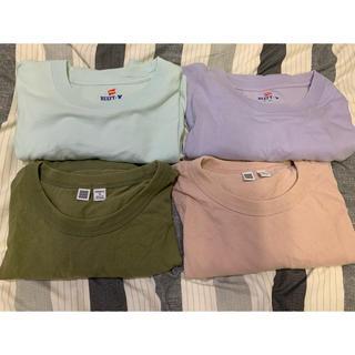 BEAUTY&YOUTH UNITED ARROWS - カラーTシャツパック (beauty&youth×hanes、UNIQLO U)
