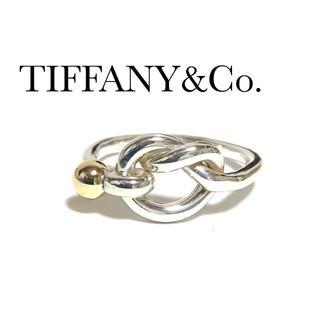 ティファニー(Tiffany & Co.)のティファニー TIFFANY K18YG シルバー ノット リング 12号(リング(指輪))