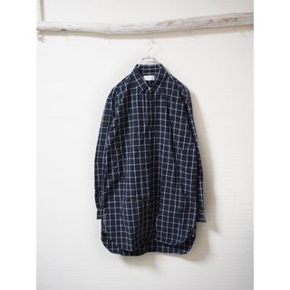 コムデギャルソン(COMME des GARCONS)の【SISE】windowpane-check long shirt(シャツ)
