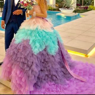 カラードレス  ウェディング(ウェディングドレス)