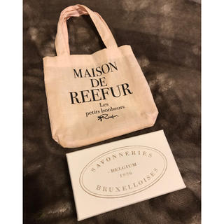Maison de Reefur - MAISON DE REEFUR ミニトート&箱入り石鹸 セット