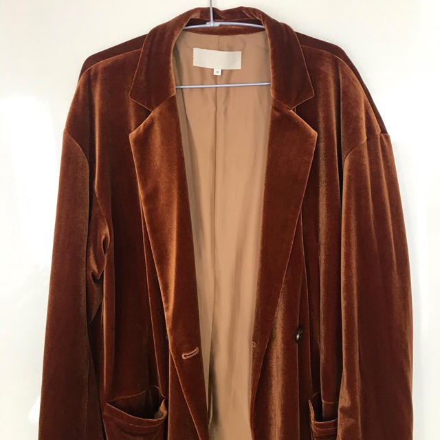TODAYFUL(トゥデイフル)のtodayful ベロアガウンコート レディースのジャケット/アウター(ガウンコート)の商品写真
