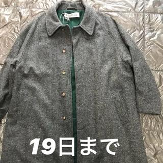 COMOLI - POLYPLOID 18AW wool coat ウールコート グレー