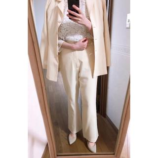 ベルメゾン(ベルメゾン)のパンツスーツ 3点セット 美品!2月中のみの販売です!(スーツ)