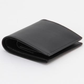 ムジルシリョウヒン(MUJI (無印良品))の《新品未使用》MUJI イタリア産ヌメ革 二つ折り財布(折り財布)
