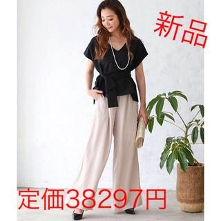 【新品】DRESS LAB フォーマルパーティードレス セットアップ ブラック