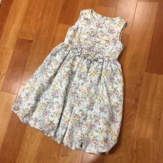 kumikyoku(組曲) - 組曲 ワンピース 花柄 フォーマル ドレス 入学式 にも 110-120 リボン