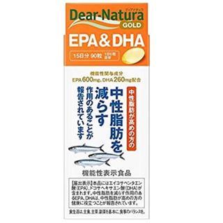 アサヒ(アサヒ)のディアナチュラゴールド EPA&DHA 90粒 (15日分) [機能性表示食品](その他)