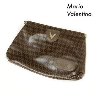 マリオバレンチノ(MARIO VALENTINO)のMario Valentino マリオバレンチノ★総柄 クラッチバッグ ポーチ(セカンドバッグ/クラッチバッグ)