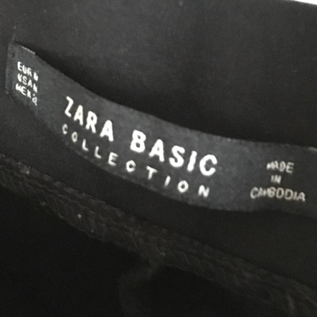 ZARA(ザラ)のZARA 黒スキニーパンツ レディースのパンツ(スキニーパンツ)の商品写真
