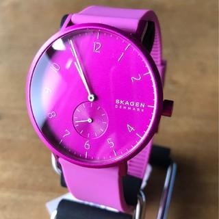 スカーゲン(SKAGEN)の【新品】スカーゲン SKAGEN クオーツ 腕時計 SKW6543 ピンク(腕時計)