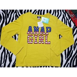 アナップ(ANAP)の新品 ANAPGIRL 160 トップス(Tシャツ/カットソー)