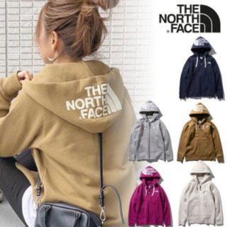 THE NORTH FACE - ロゴジップパーカー